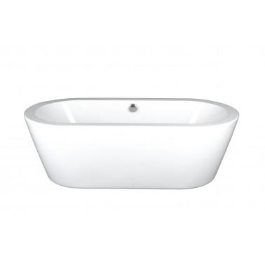 "Modern Freestanding Tub 66"" - White Acrylic"