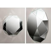 Diamante mirror by REGIA
