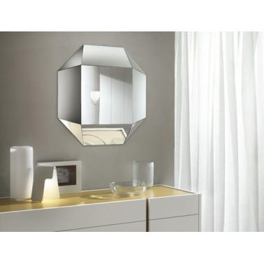 Modern Italian Mirror Diamante