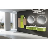 Modern Double Vanity Latitudine 08 by GB Group