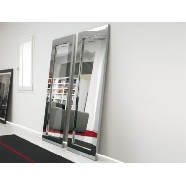 Italian Floor Standing Mirror - Titanio
