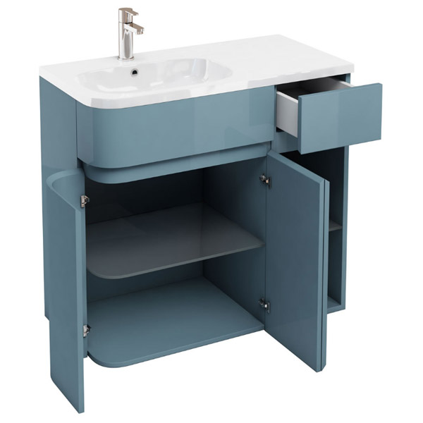 home bath aqua star 36 bathroom vanity ocean