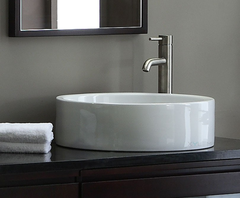 Home > Bath > Round Ceramic Vessel Sink