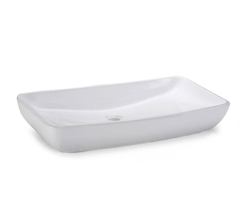 Home > Sinks > Rectangular Ceramic Vessel Sink - 27.5?
