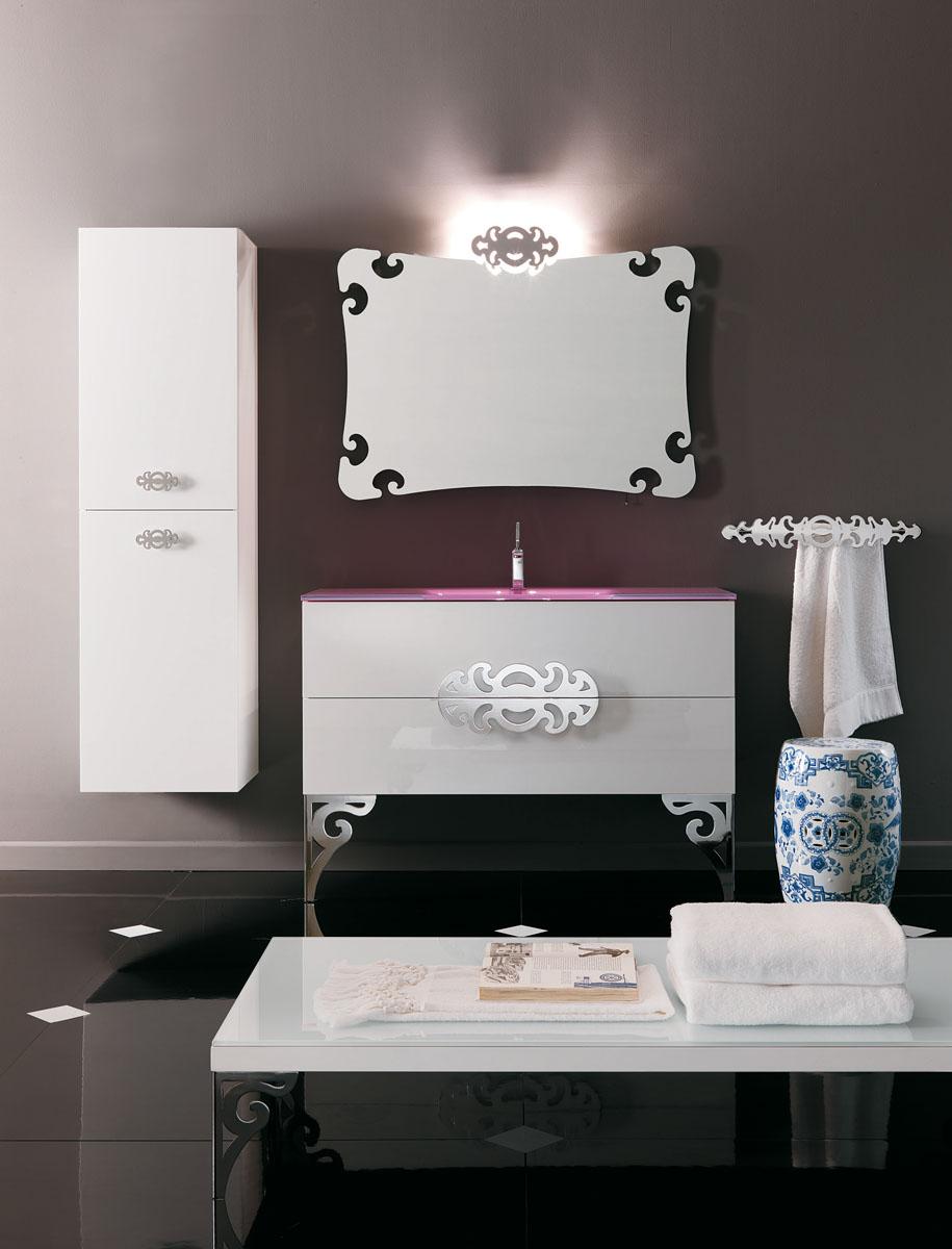 Lacquer bathroom vanity - Art Deco Bathroom Vanities Nyc