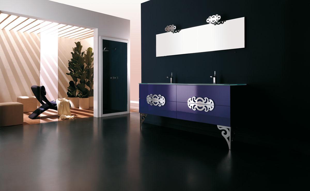 home bath art deco bathroom vanity glamour 6