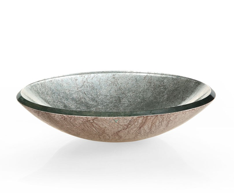 Home > Sinks > Reflex Metallic Silver Vessel Sink