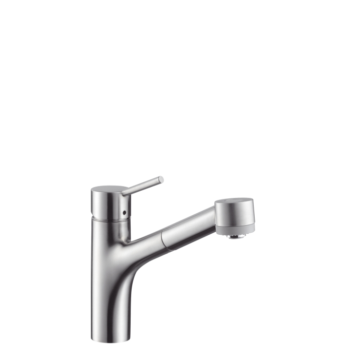 home single hole talis kitchen faucet hansgrohe pull